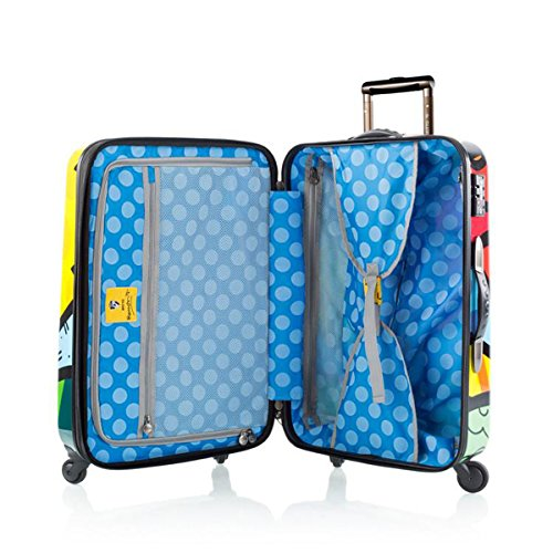 Romero Britto Luggage 22'' a New Day Spinner Wheels Carry-on by Heys (Image #2)