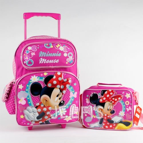 Minnie Sparkle inches Rolling Backpack