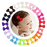 2'' 2.5'' 3'' Boutique Grosgrain Ribbon Hair Bows for Baby Girls Toddlers Girls Hair Clips with bows in 2-3 inch  This set different Boutique Style Hair Bows is sure to please mothers and daughters alike.  With the wide range of colors and patterns, ...