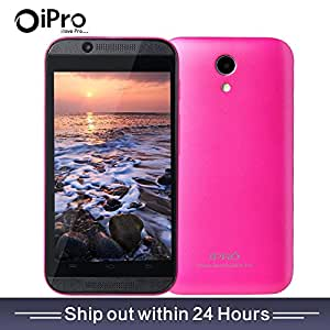 Smartphone 1.0g Dual Core Dual SIM 4.0 Inch LCD Screen No-contract Mobile Phone (Rose)