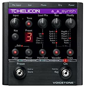tc helicon voicetone synth vocal effects processors musical instruments. Black Bedroom Furniture Sets. Home Design Ideas