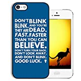 tardis salt - RHINO ARMOUR SLIM - Ultra Premium Case -Dr who Tardis Police call -New design for Apple iPod 6, 6th Gen, Made & Printed in the USA