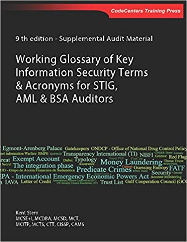Working Glossary of Key Information Security Terms