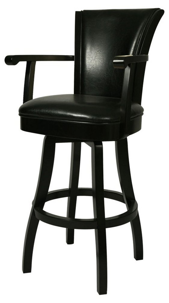Amazon.com Impacterra QLGL217227865 Glenwood Swivel Stool with Arms 30\  Bar Height Feher Black/Leather Black Kitchen \u0026 Dining  sc 1 st  Amazon.com & Amazon.com: Impacterra QLGL217227865 Glenwood Swivel Stool with ... islam-shia.org
