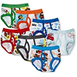 Handcraft Little Boys' Disney Cars 7 Pack Brief, Multi, 4T
