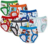 Handcraft Little Boys' Disney Cars 7 Pack Brief, Multi, 2T/3T