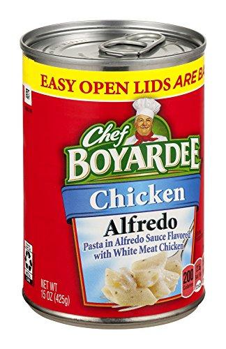 Chef Boyardee, Chicken Alfredo, 15oz Can (Pack of 6) - Chicken Ravioli