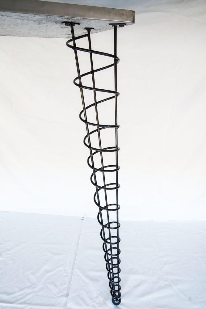 amazoncom bar height table legs modern 4212inch height single leg handmade