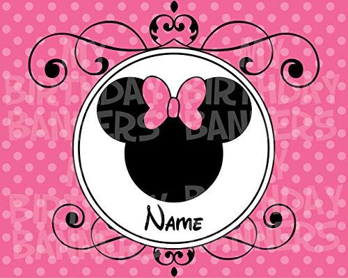 Minnie Mouse BIrthday Banner -