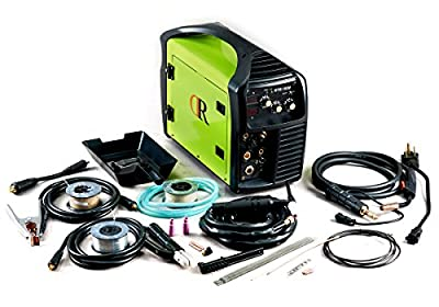 180 Amp 3-IN-1 MIG TIG ARC Stick Multifunction DC Welder 115/230V Dual Voltage Welding Soldering Machine