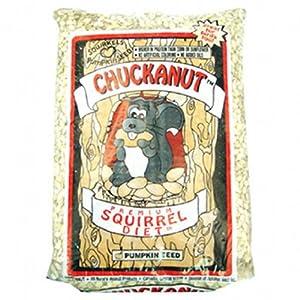 Chuckanut Products 00000 20-Pound Premium Squirrel Diet On Sale