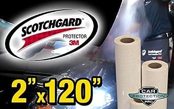 "Genuine 3M Scotchgard Paint Protection Film Clear Bra Bulk Roll Film 24/'/' x 120/"""