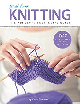 First Time Knitting Step Step ebook