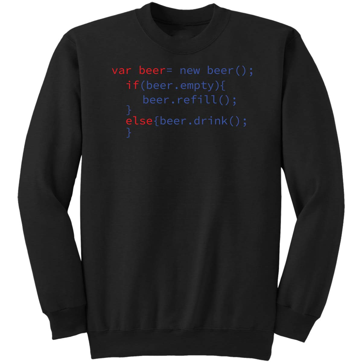 Beer Code-Gift Funny Men Women Drun Sweatshirt