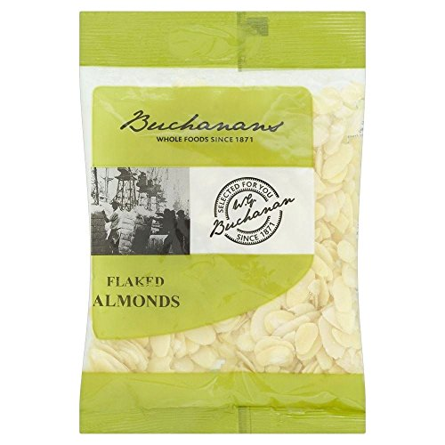 Buchanans Flaked Almonds 100g  Pack of 2