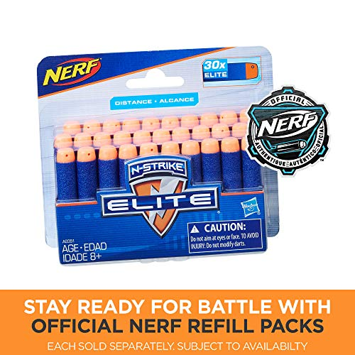 51f5IKhUgWL - Infinus Nerf N-Strike Elite Toy Motorized Blaster with Speed-Load Technology, 30-Dart Drum, and 30 Official Nerf Elite Darts for Kids, Teens, and Adults