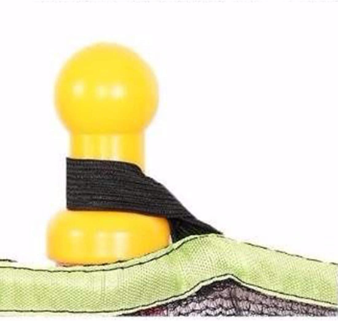 LuoKe Trampoline Domestique Sports Int/érieurs et Ext/érieurs avec Bo/îtier de S/écurit/é Filet Mini Poign/ée Trampolines pour Enfants