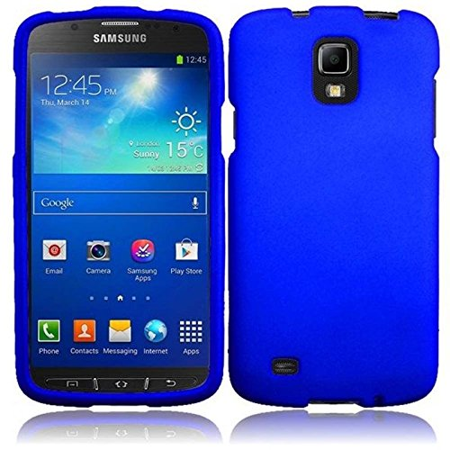 For Samsung Galaxy S4 S 4 Active i537 i9295 Hard Cover Case Blue Accessory