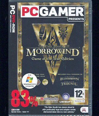 The Elder Scrolls III: Morrowind Game of the Year Edition (Netherlands)