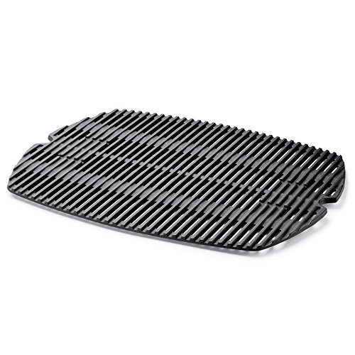 Grill Grate. Replacement Porcelain Enameled Cast Iron Cooking Grid For Gas Or Charcoal Grill & Bbq Weber Q 200/2000 Series.