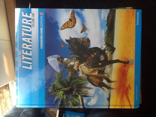 Prentice Hall Literature Common Core Grade 7, Volume One