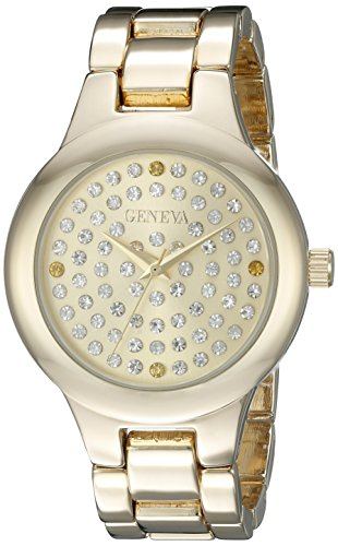 Geneva Women's FMDJM105A Analog Display Japanese Quartz Gold Watch