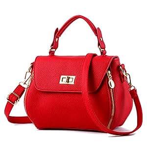 FOLLOWUS - Bolso de tela para mujer, Red (rojo) - G72363G