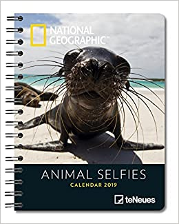 2019 Nat Geog Animal Selfie Deluxe Diary por None epub