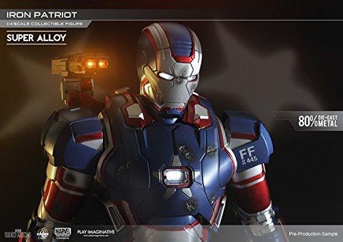 Super alloy 1/4 scale Collectible Figure Series Iron Patriot (Super Alloy Iron compare prices)