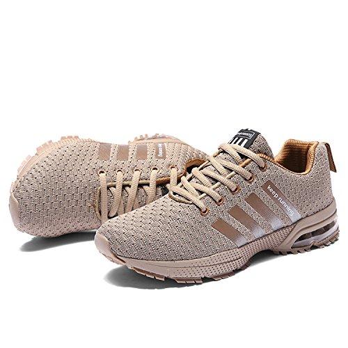 9aa7e64b8f2e2 De Trail Kuako Running Chaussures Course Femme Marron Homme Entraînement  Sport Compétition Multisports Basket 11450q