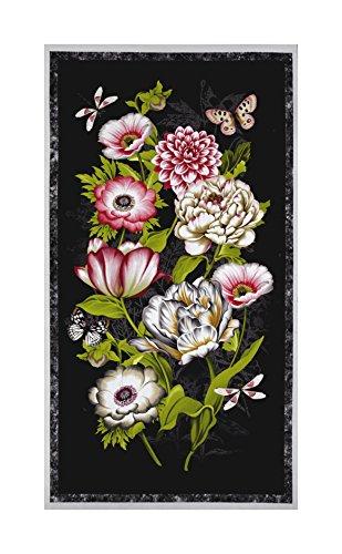 Wilmington Prints Tivoli Garden 23in Panel Multi Fabric