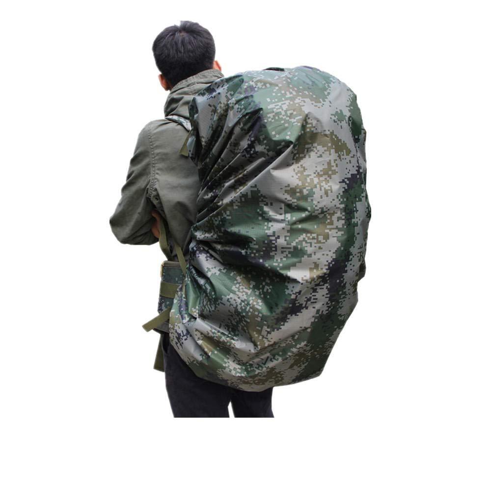 XGTsg Rucksack wasserdichte Abdeckung Tarnung Marschrucksack Regenschutz Zerrei/ßen Staubschutz Outdoor Reiten Wandern
