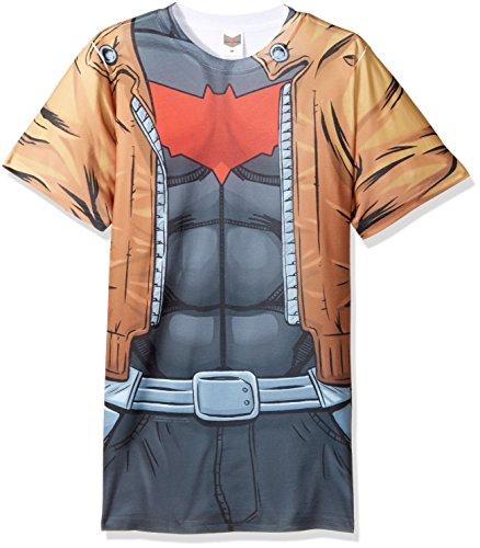 Trevco Batman Red Hood Uniform Adult T-Shirt at Gotham City Store