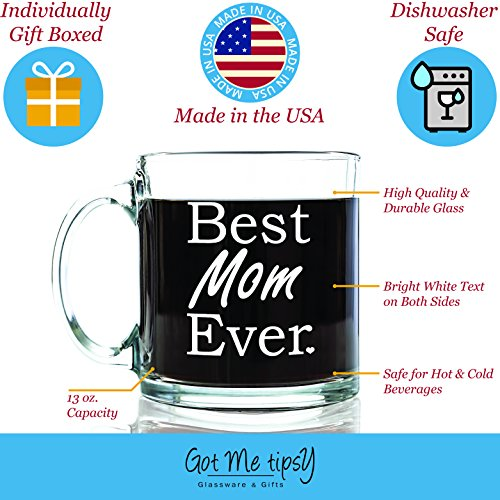 Review Best Mom Ever Glass