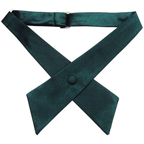 TopTie Criss-Cross Tie, Girls' School Uniform Cross Tie-Black by TOPTIE (Image #5)