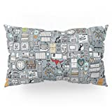 Society6 Love And Stuff Pillow Sham King (20'' x 36'') Set of 2