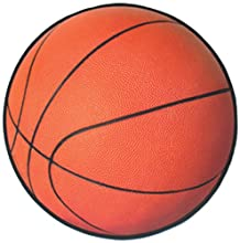 Beistle 24-Pack Basketball Cutout, 13-1/2-Inch