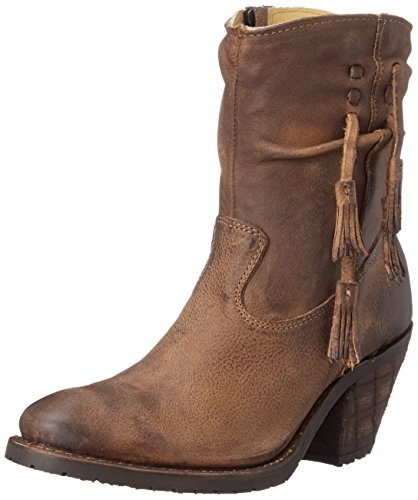 Justin Ladies Western Cowboy Boots (Justin Boots Women's 7 Inch Fashion Riding Boot, Tan Rustico, 8.5 B US)