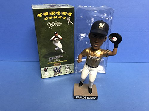 Carlos Gomez 2013 Milwaukee Brewers STADIUM PROMO Bobblehead SGA