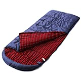 Camp Solutions XXL - 13 F Flannel Lined Sleeping Bag -Extreme Weather (91