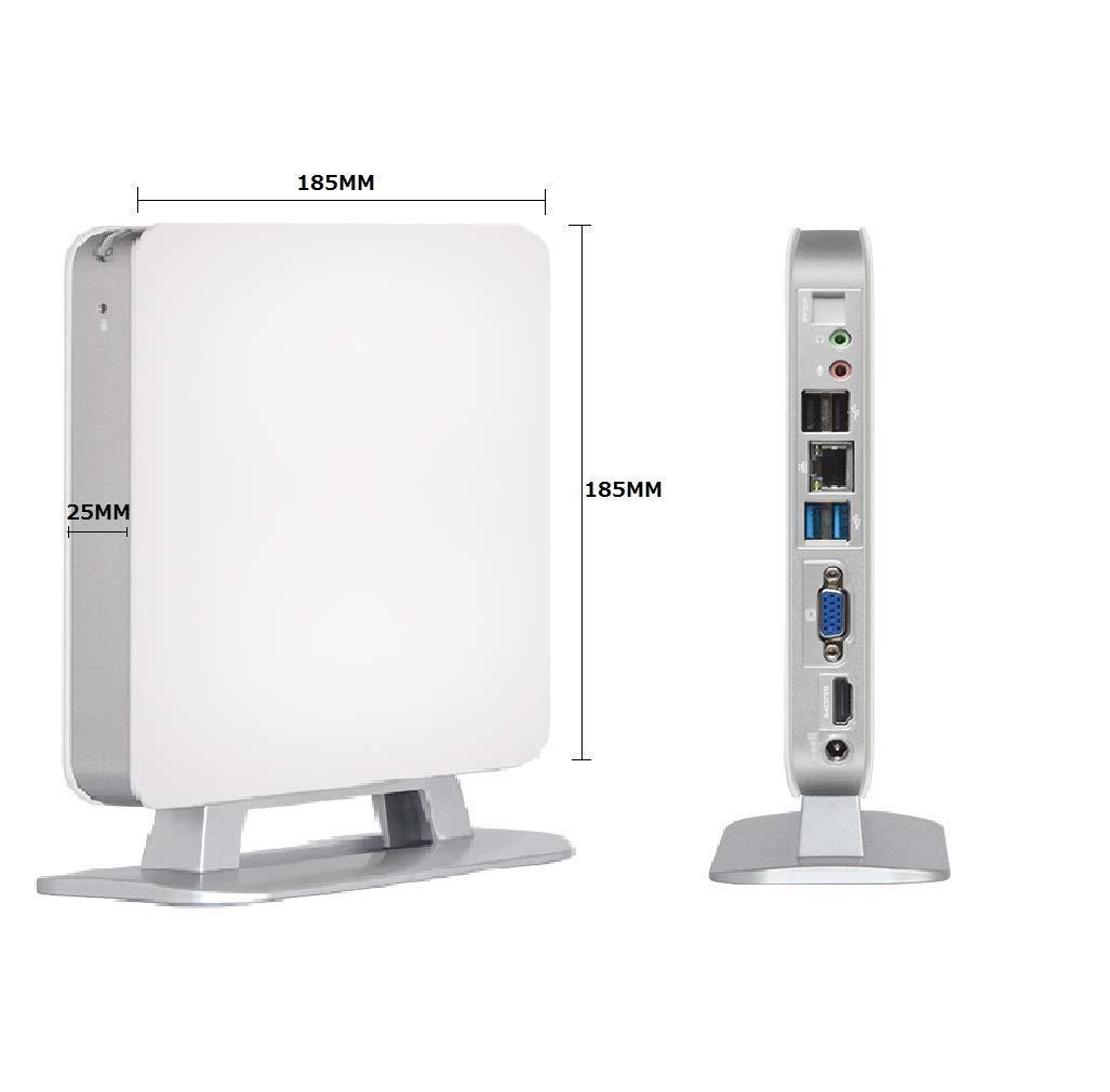 魅力の Qkifly 小型パソコン ミニPC 静音 小型デスクトップ Mini PC 静音 無線WIFI 10 ミニPC 省スペース 豊富なインターフェースを搭載 (ブラック)/【第五世代Core i5】【SSD 120GB】【メモリ8GB】【Win 10 Pro搭載】/ USB3.0 HDMI 静音 B07NPWN78L, sneezy:f961a17a --- arbimovel.dominiotemporario.com
