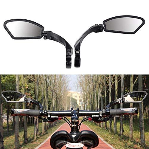 Volwco Fietsspiegel, 360 ° verstelbare hoek fietsspiegel, roestvrij staal, HD explosiebestendige glazen lens, veilige…