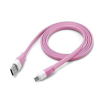 Youmei® 6 Colores 2A V8 Micro Cable USB de Datos Plana de ...