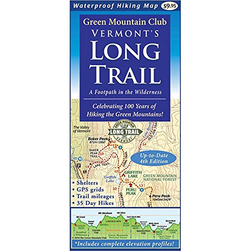 (Mountain Green Vermont's Long Trail: Map)