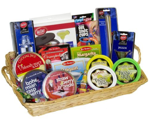 The Ultimate Drinker's Delight Gourmet Gift Basket