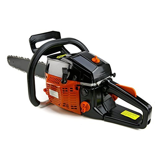 XtremepowerUS 22' 2.4HP 45cc Gasoline Gas Chainsaw Cutting Wood EPA