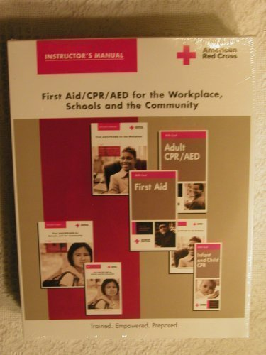 Download Instructor's Manual ; First Aid/CPR/AED for the Workplace, Schools and the Community , CD included PDF
