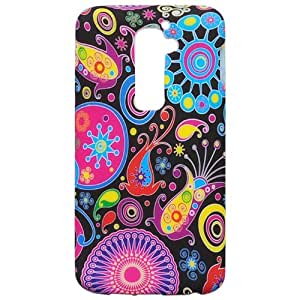 Casea Packing Colorful Jellyfish TPU Gel Cover Case for LG G2 D802