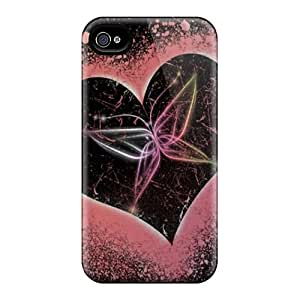 New Arrival Case Specially Design For Iphone 4/4s (heartz)