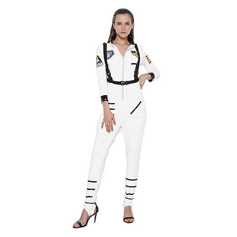 EraSpooky Disfraz de Astronauta Traje de Fiesta de Halloween ...